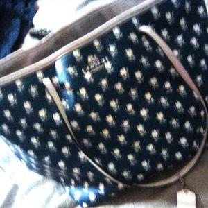 Vintage coach tote bag